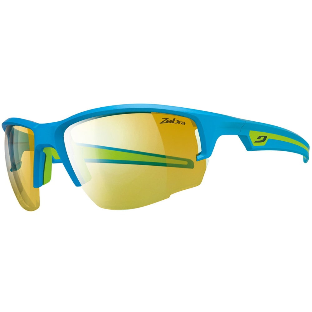 JULBO Venturi Zebra Sunglasses, Blue/Green - BLUE/GREEN