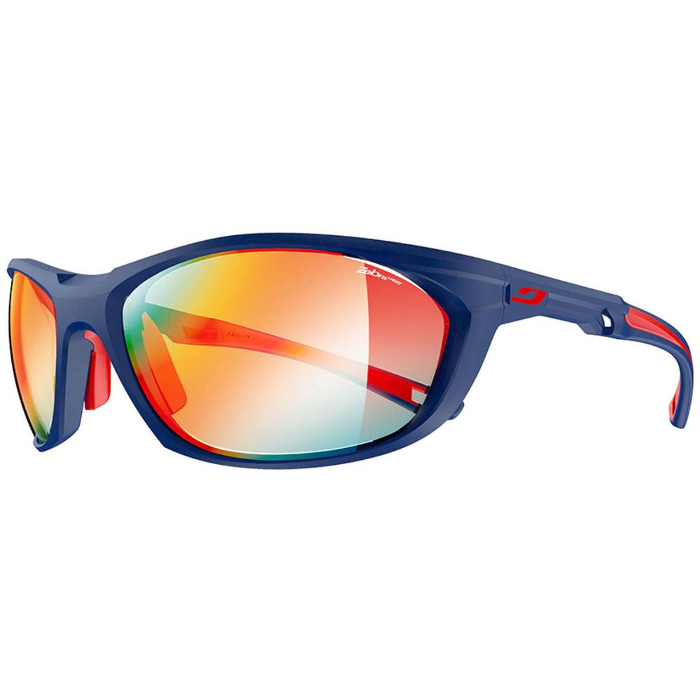 JULBO Race 2.0 Zebra Sunglasses - MATTE BLUE/RED