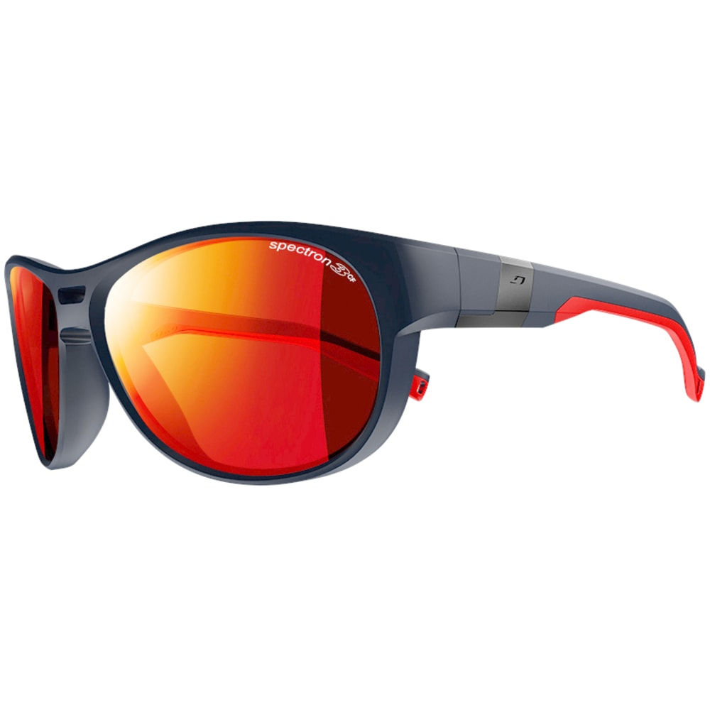 JULBO Shore Sunglasses - MATTE BLACK/RED
