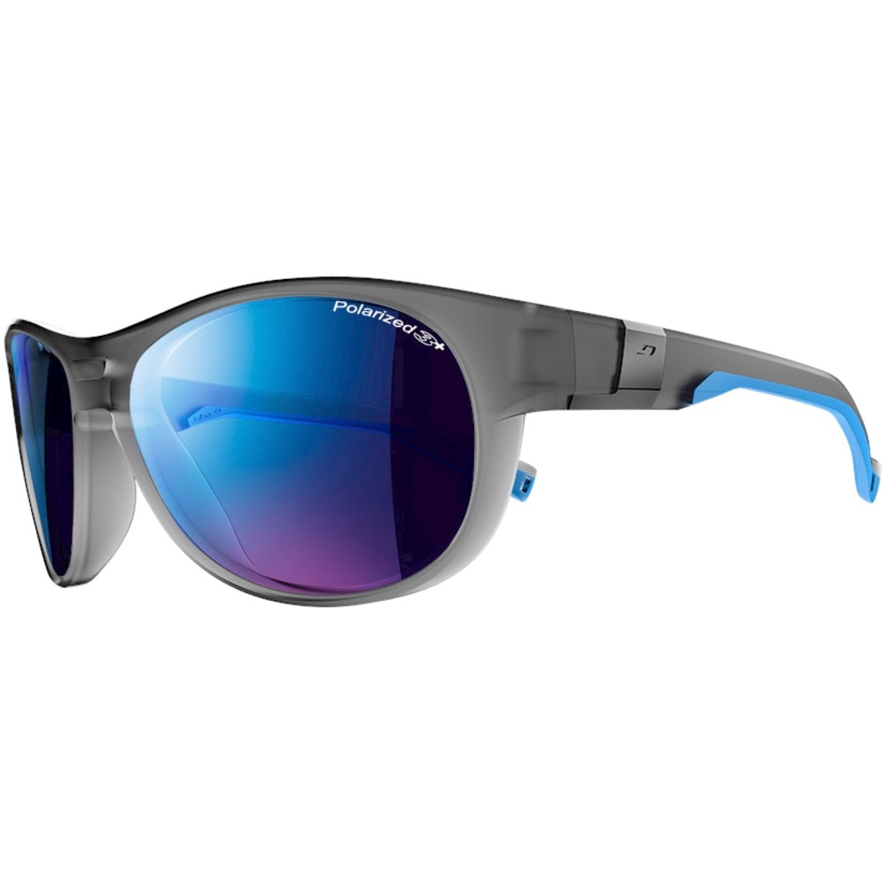 JULBO Shore Polarized Sunglasses - TRANSGRAY/LIGHT BLUE