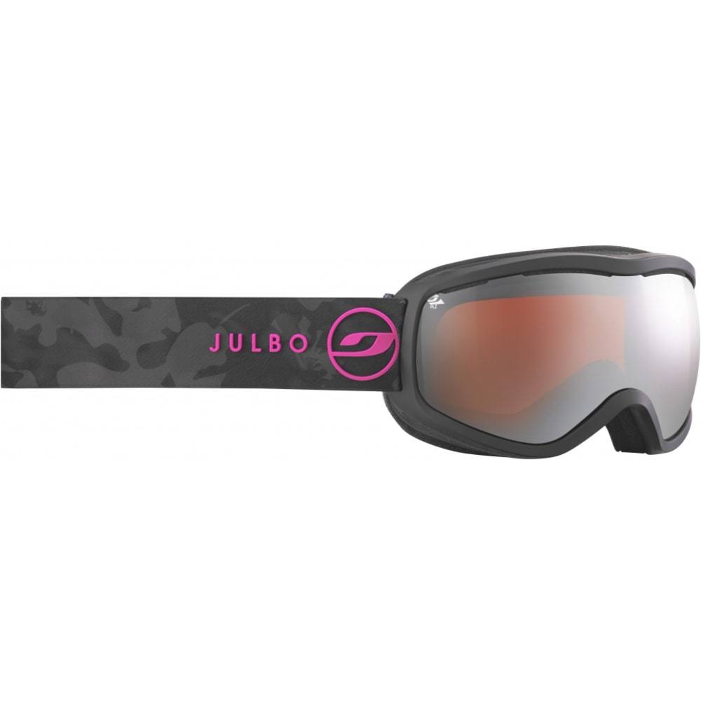 JULBO Women's Equinox Polarized Goggles - BLACK MARBRURE
