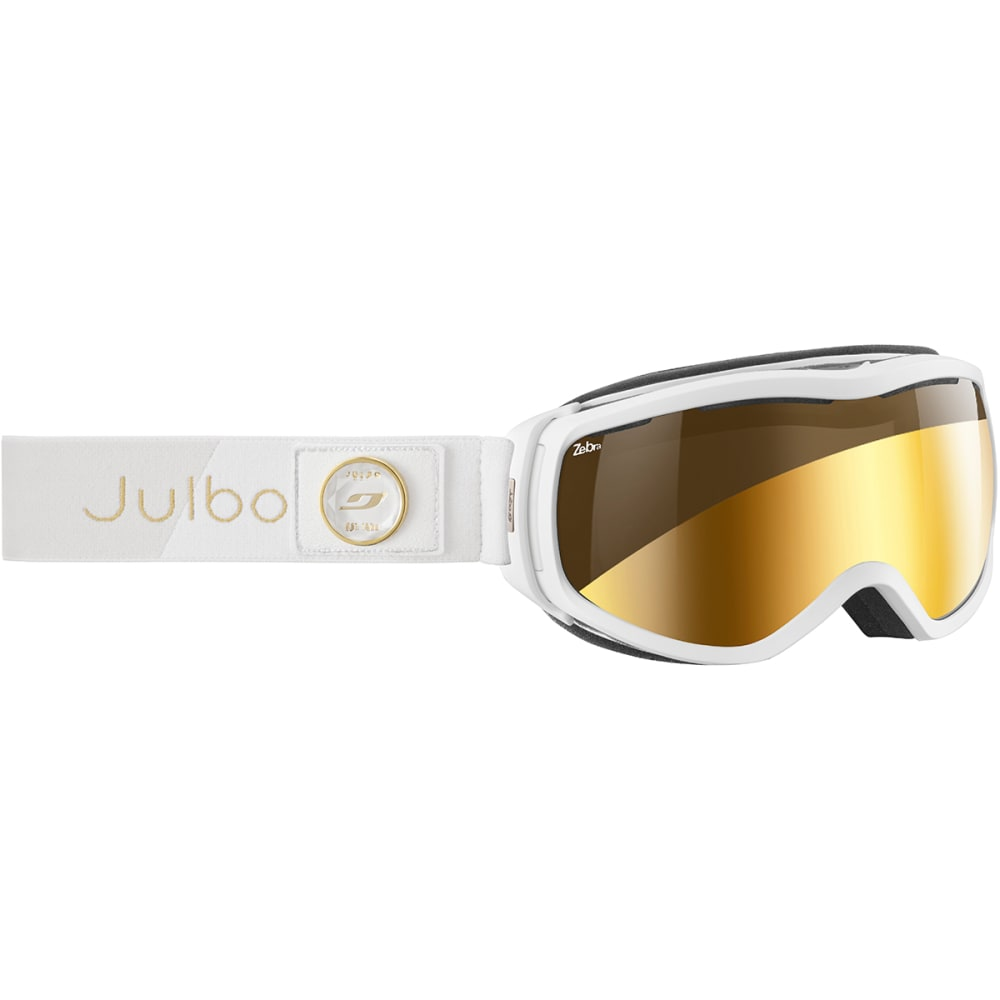 JULBO Women's Elara Goggles - WHITE/GOLD CHIC
