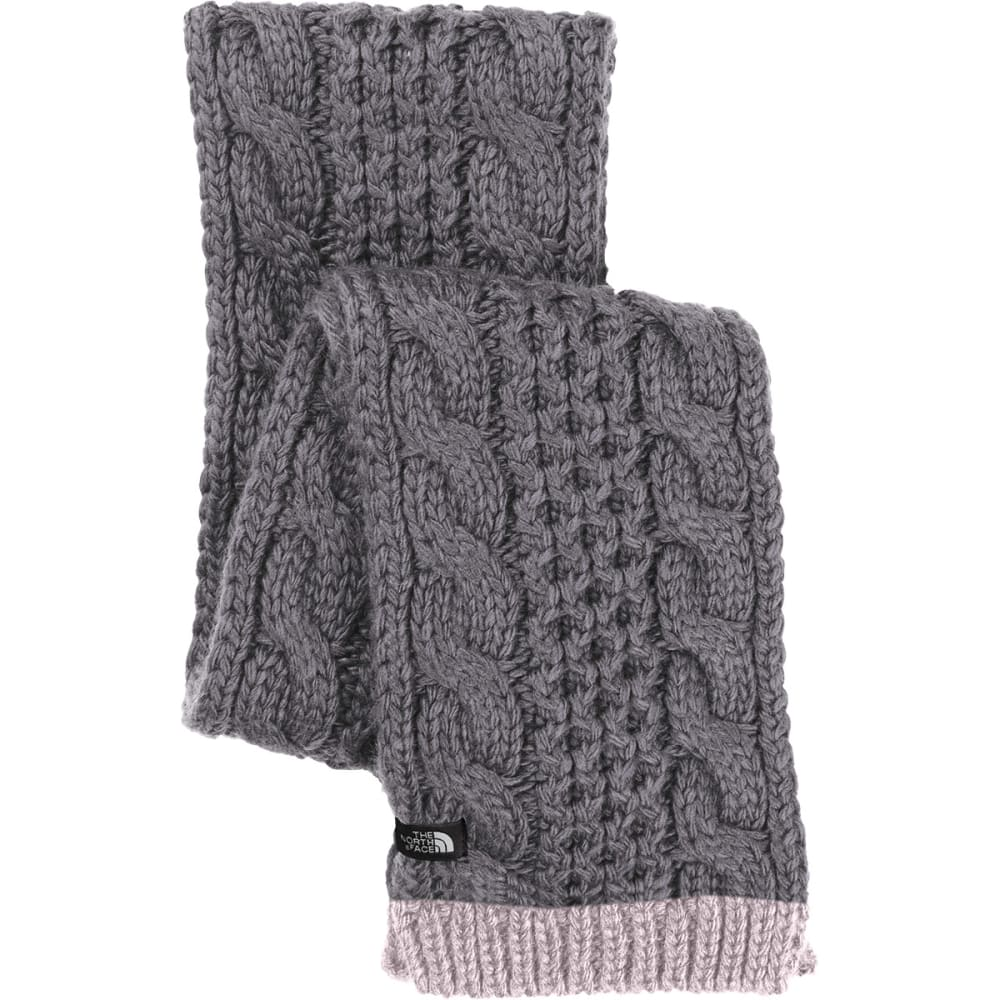 THE NORTH FACE Women's Cable Minna Scarf - HCW-RABBIT GRY