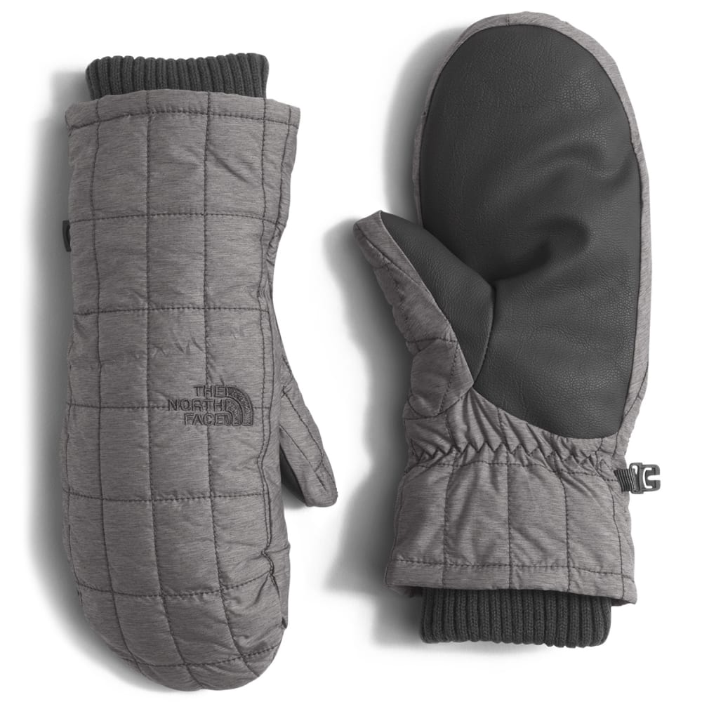 THE NORTH FACE Women's Metropolis Mittens - JBV-MED GRY HEATHER