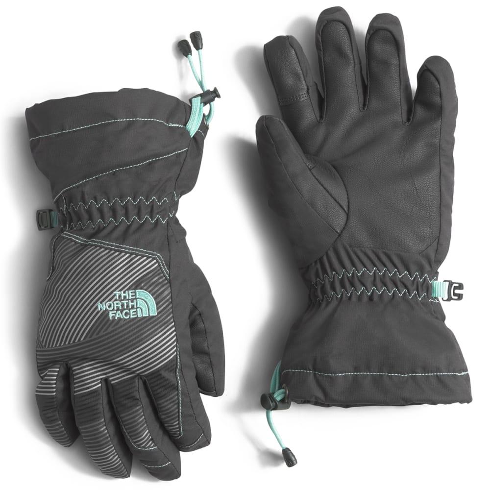 THE NORTH FACE Kids' Revelstoke Etip Fleece Gloves - MXV-GRAPHGRY/ICEGRN