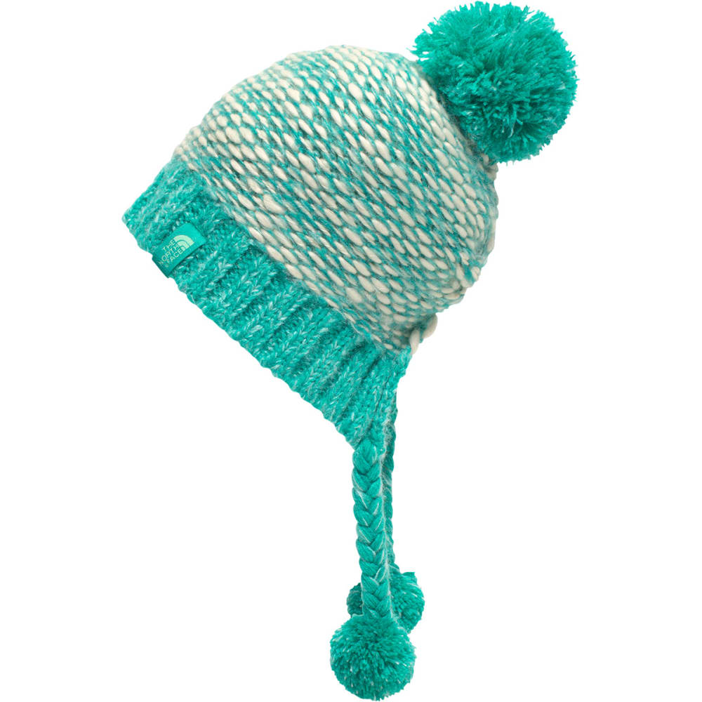 THE NORTH FACE Girls' Flecka Earflap Beanie - LXY-VINTAGE ION BLUE