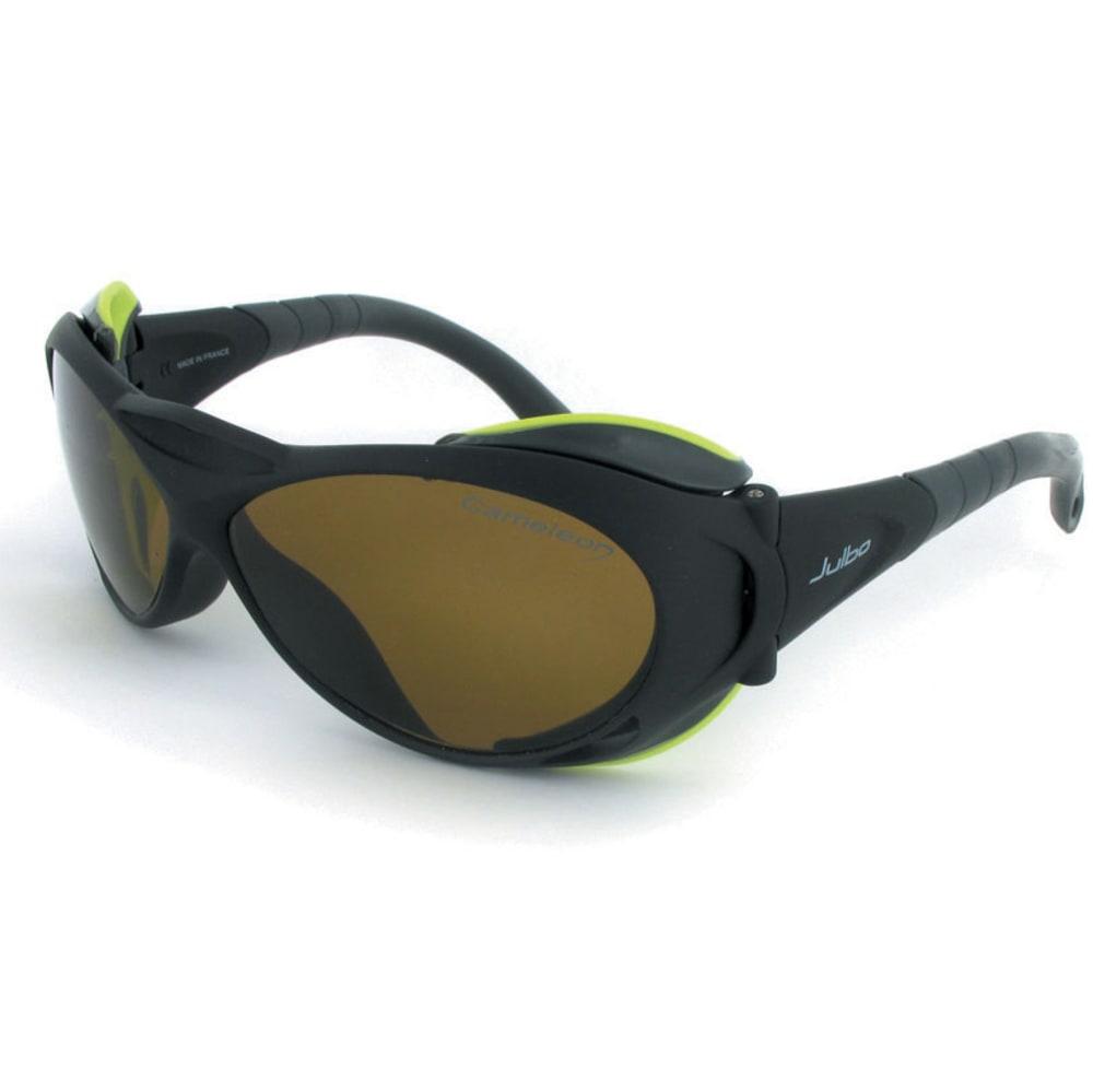 JULBO Explorer Camel Sunglasses - MATTE BLACK