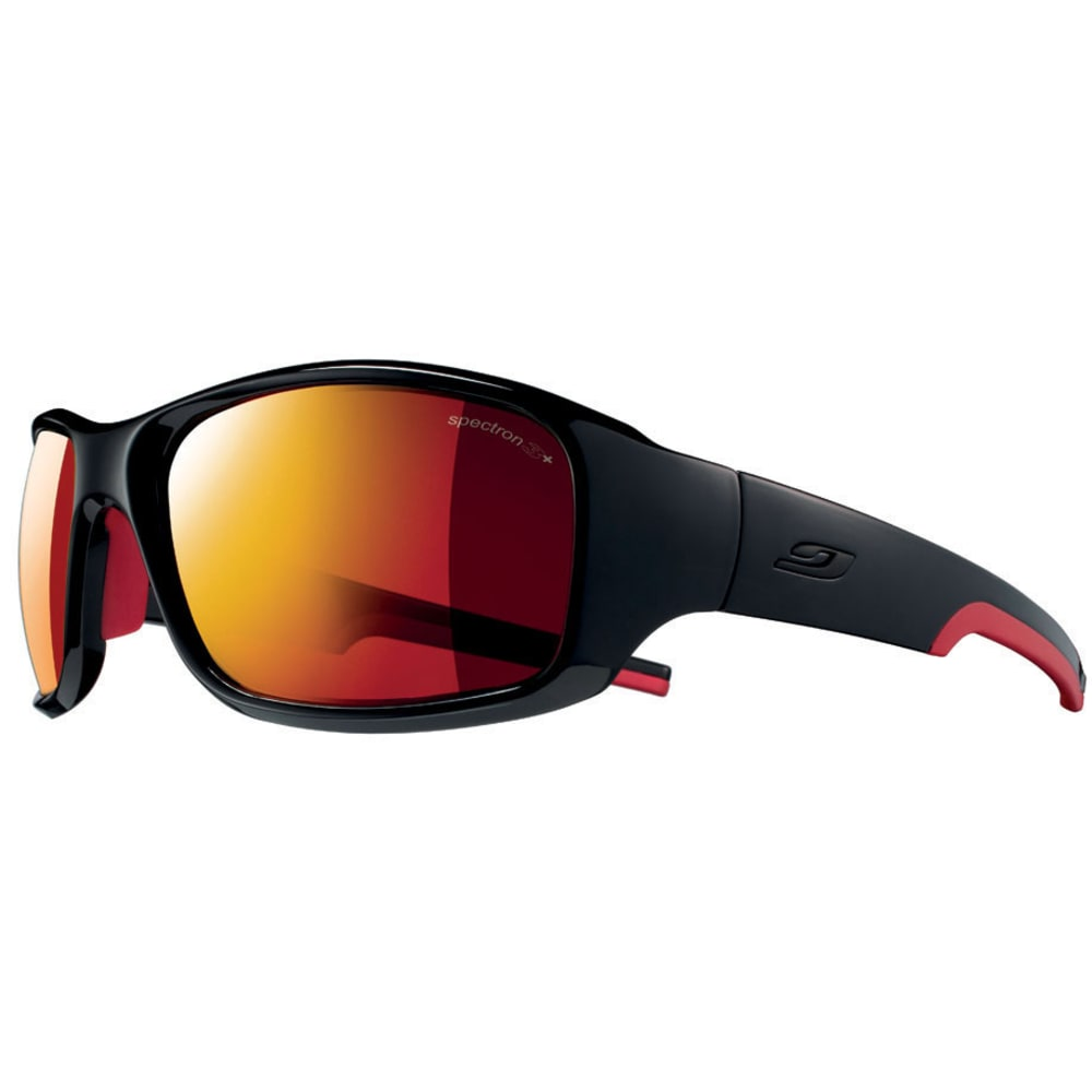 JULBO Stunt Spectron 3 CF Sunglasses, Shiny Black/Red - BLACK/RED