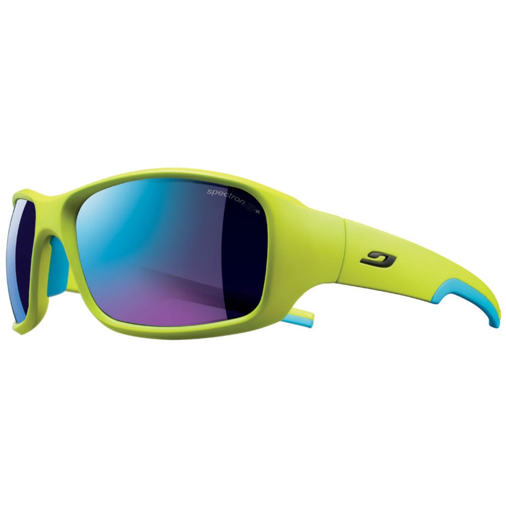 JULBO Stunt Spectron 3 CF Sunglasses, Apple Green/Blue - YELLOW/BLU