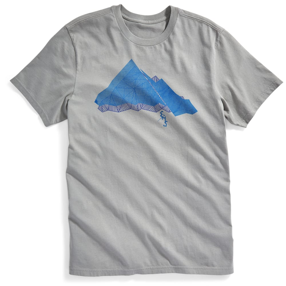 EMS® Men's Geo Summit Graphic Tee - NEUTRAL GREY
