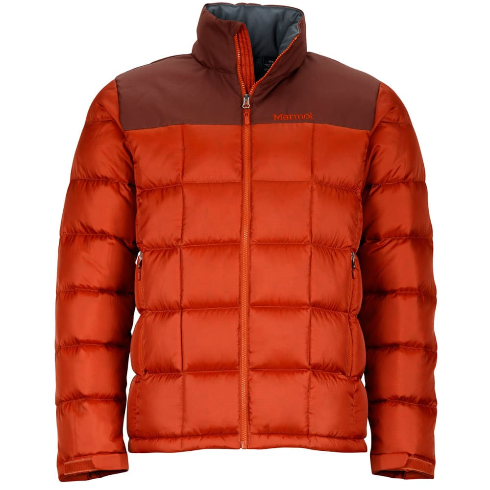 MARMOT Men's Greenridge Jacket - 7860-DK RUST/BRWN