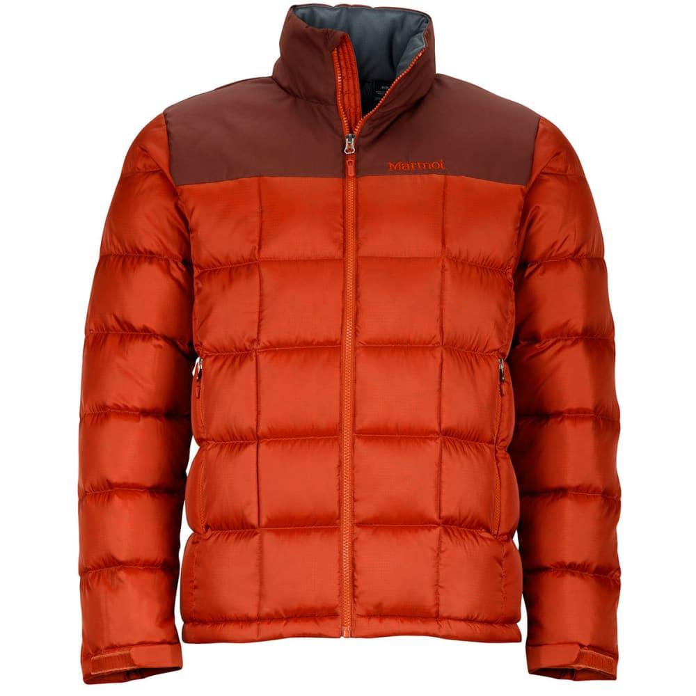 MARMOT Men's Greenridge Jacket - 7860-DK RUST/BRWN