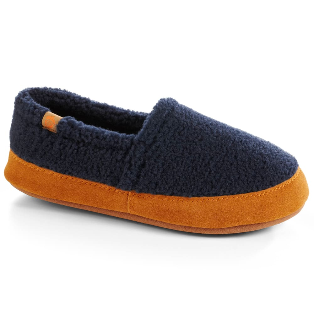 ACORN Women's Moc Shoes, Navy Popcorn - NAVY
