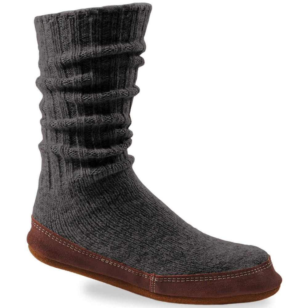 ACORN Women's Slipper Socks, Charcoal - CHARCOAL