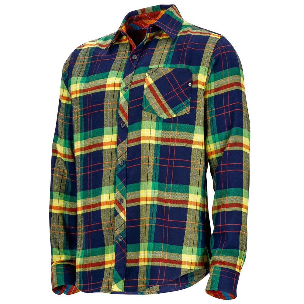 Marmot men s anderson flannel long sleeve shirt eastern for Marmot anderson flannel shirt men s