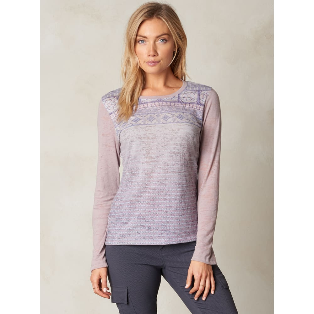 PRANA Women's Lottie Top - GULL