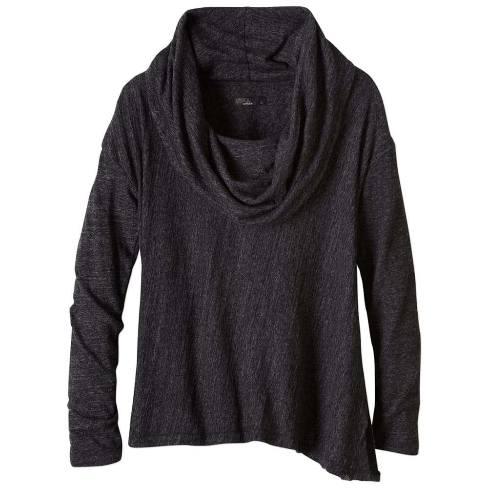PRANA Women's Ginger Shirt - BLACK