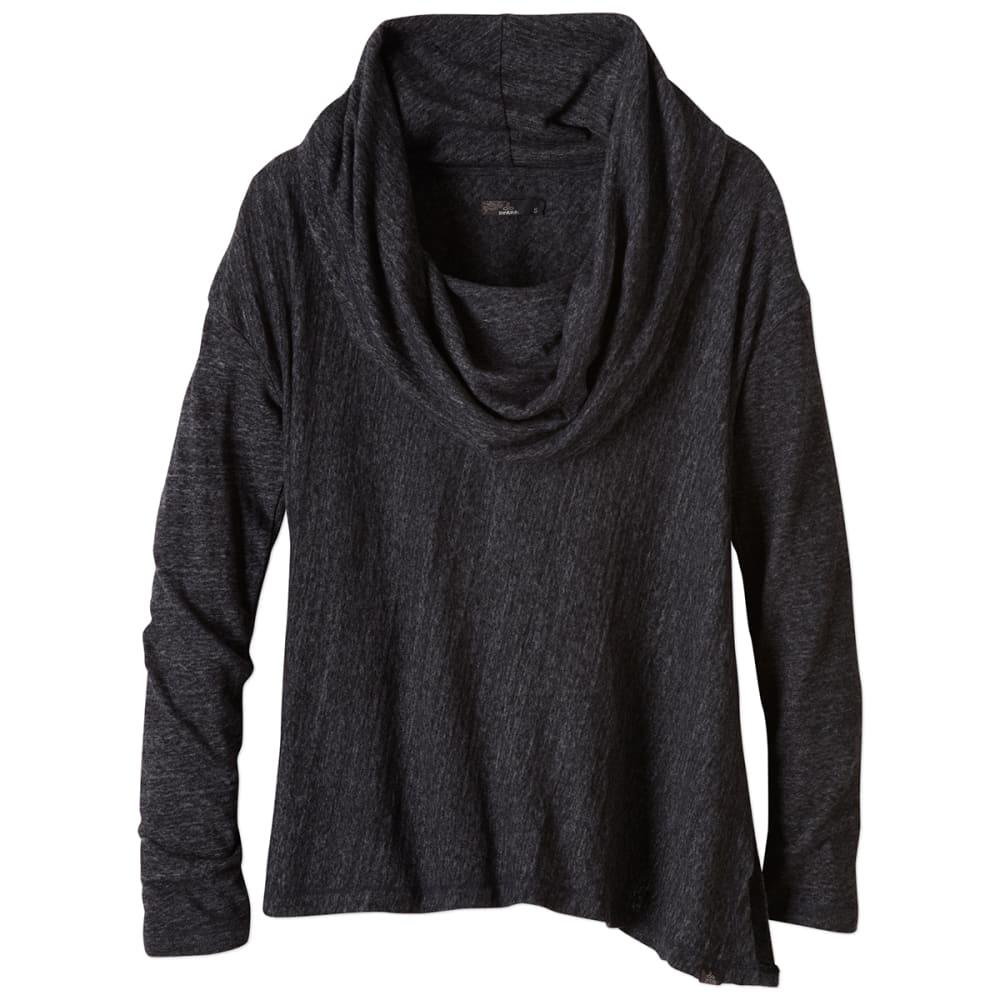 PRANA Women's Ginger Shirt - BLACK