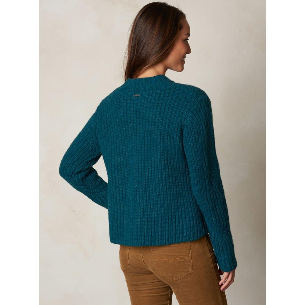 PRANA Women's Cedric Sweater - DEEP TEAL