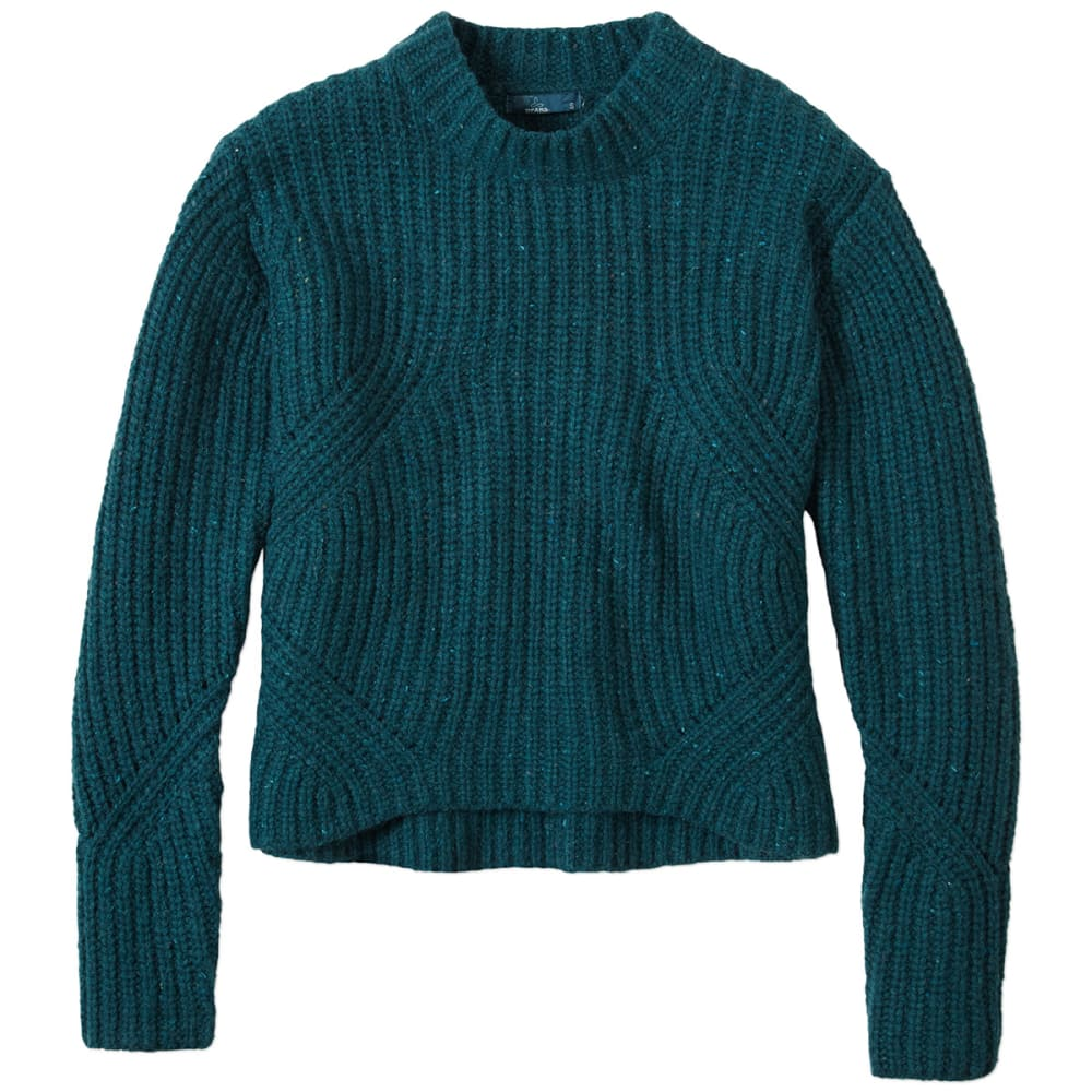 PRANA Women's Cedric Sweater - DEEP TEAL