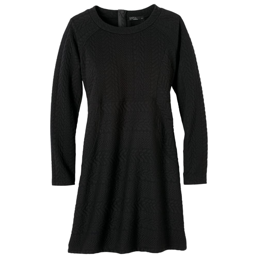 PRANA Women's Macee Dress - BLACK