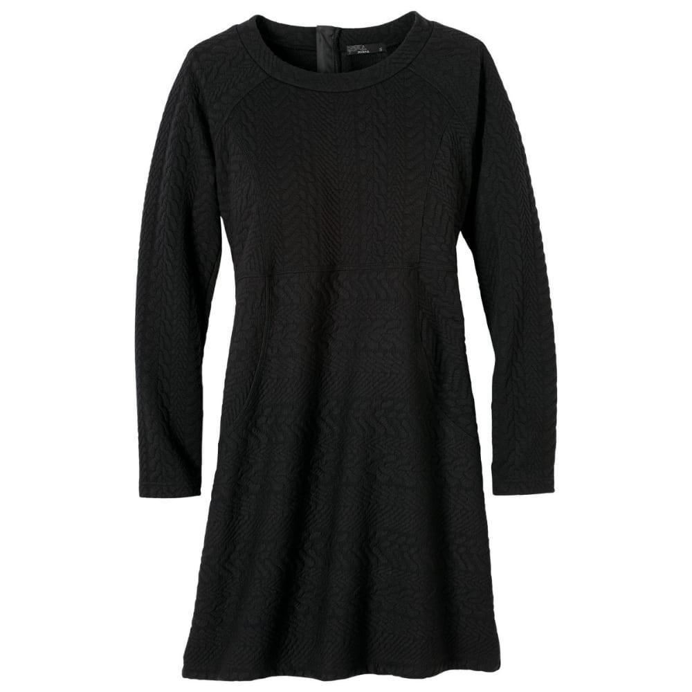 PRANA Women's Macee Dress - BLACK