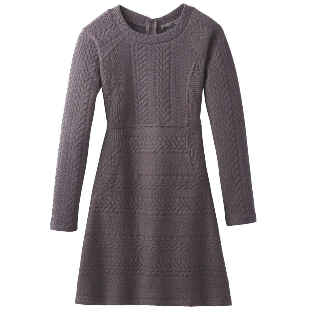 PRANA Women's Macee Dress - TRUFFLE