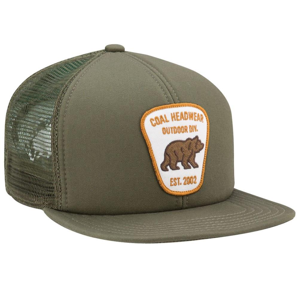 COAL Men's Bureau Trucker Cap, Olive - OLIVE