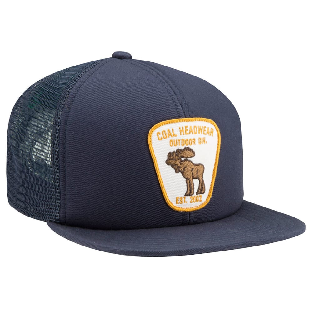 COAL Men's Bureau Trucker Cap, Navy - NAVY