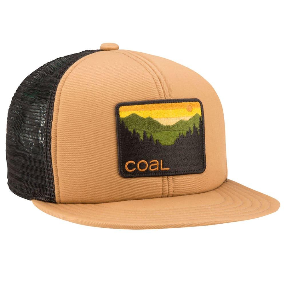 COAL Men's Hauler Trucker Cap - LIGHT BROWN