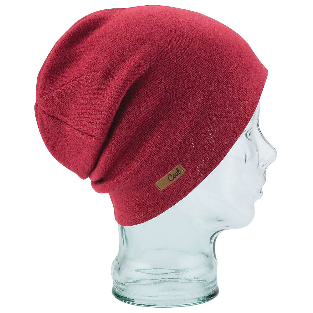 COAL Women's Julietta Beanie, Burgundy - BURGUNDY