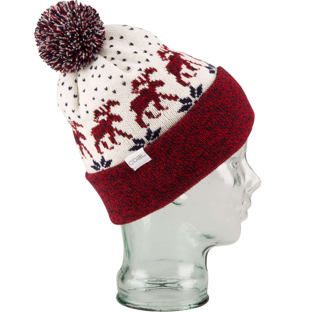 COAL Lodge Pom Beanie  - AMERICANA
