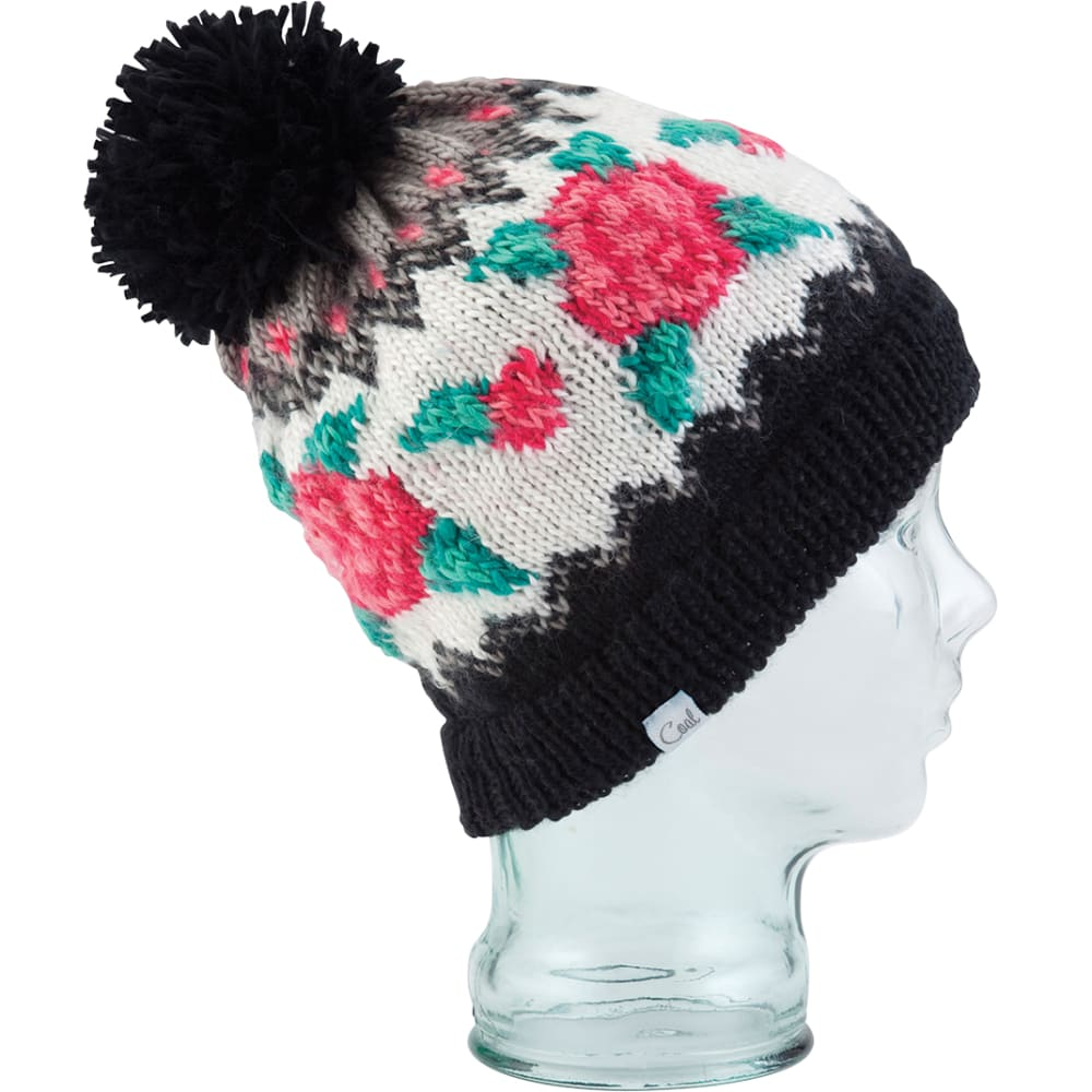 COAL Women's The Rose Beanie - BLACK