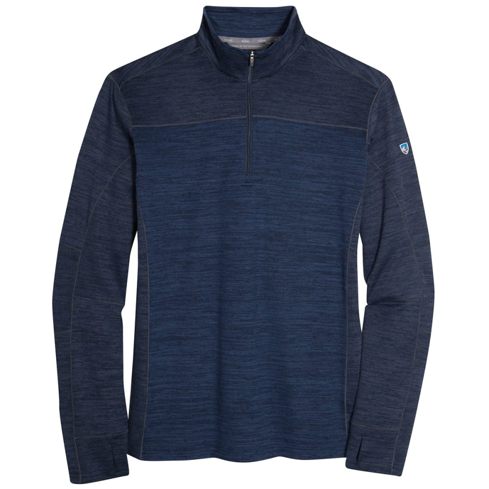 KÜHL Men's Ryzer 1/4 Zip Sweater - PB-PIRATE BLUE