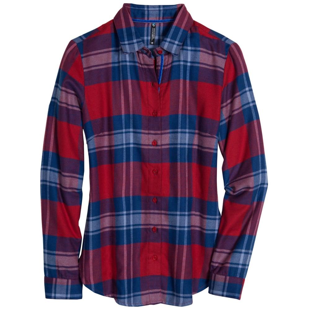 KÜHL Women's Ophelia Flannel Shirt - RED SPICE