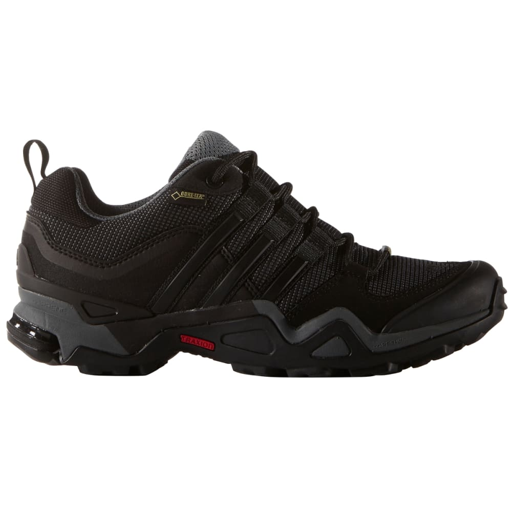 ADIDAS Women's Fast X Gore-tex Hiking Shoes, Dark Grey - DRK GRY/BLK/VSTA GRE