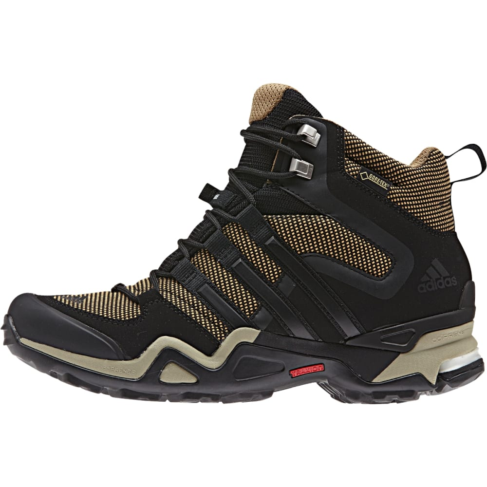 ADIDAS Women's Fast X High Gore-tex Hiking Shoes, Cardboard - CRDBRD/BK/TCH BEIGE