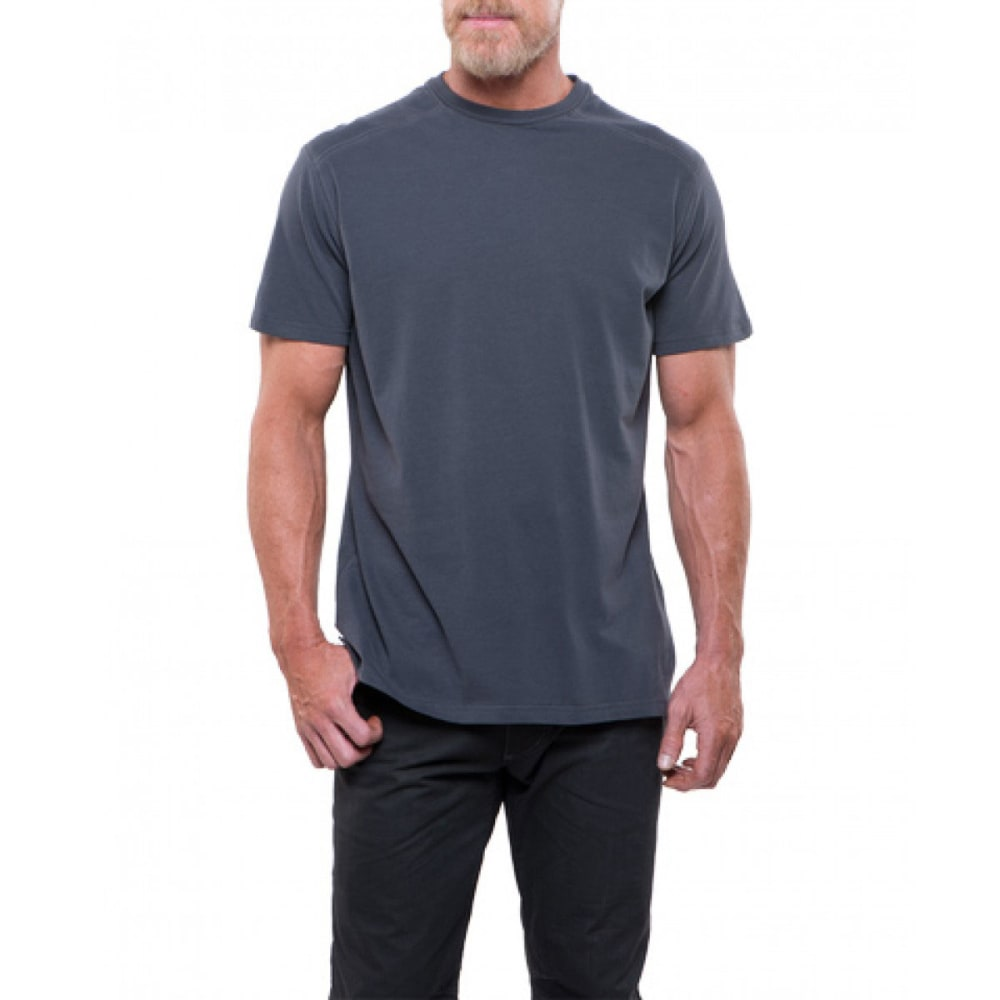 KUHL Men's Bravado Short-Sleeve Tee - CA-CARBON
