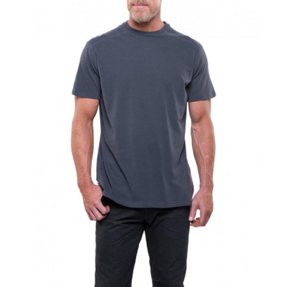 KUHL Men's Bravado Short-Sleeve Tee - CA-CARBON