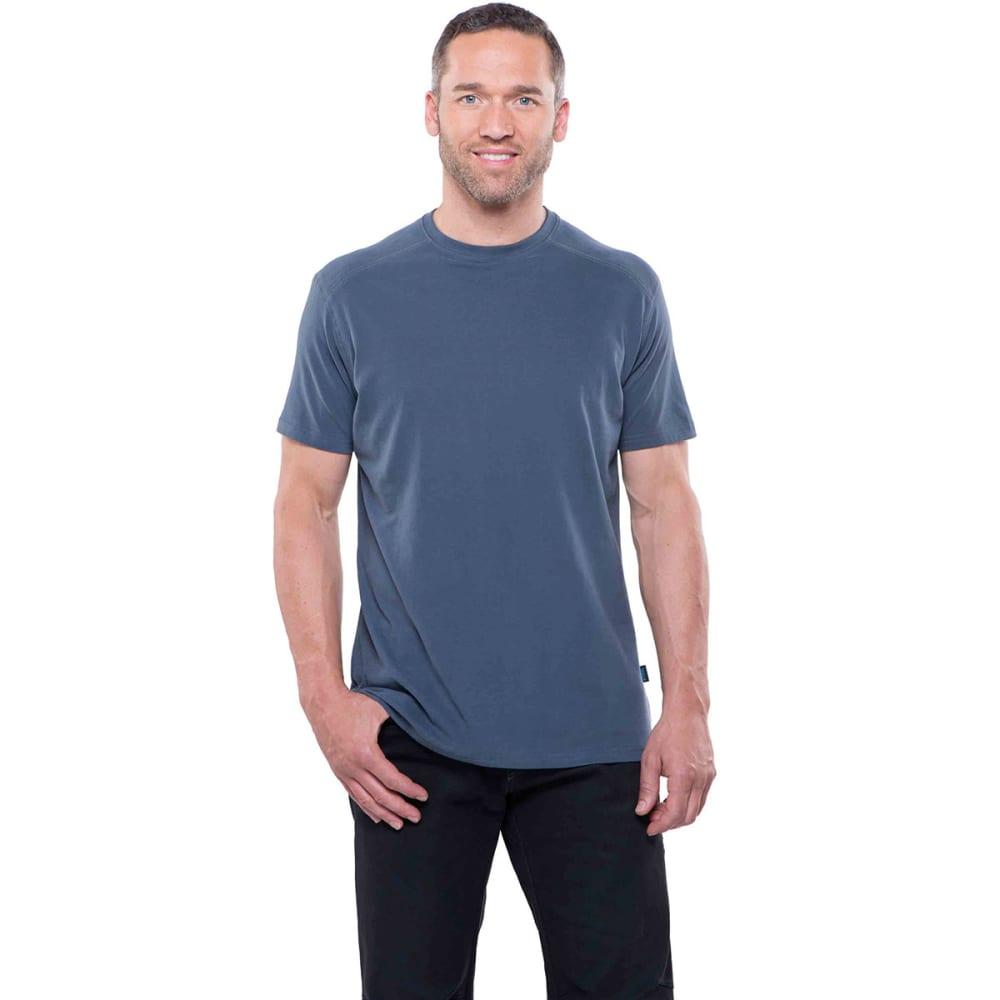 KUHL Men's Bravado Short-Sleeve Tee - PB-PIRATE BLUE