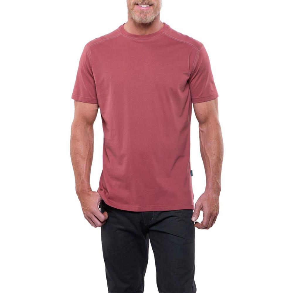 KUHL Men's Bravado Short-Sleeve Tee - SDT-SUN DRIED TOMATO