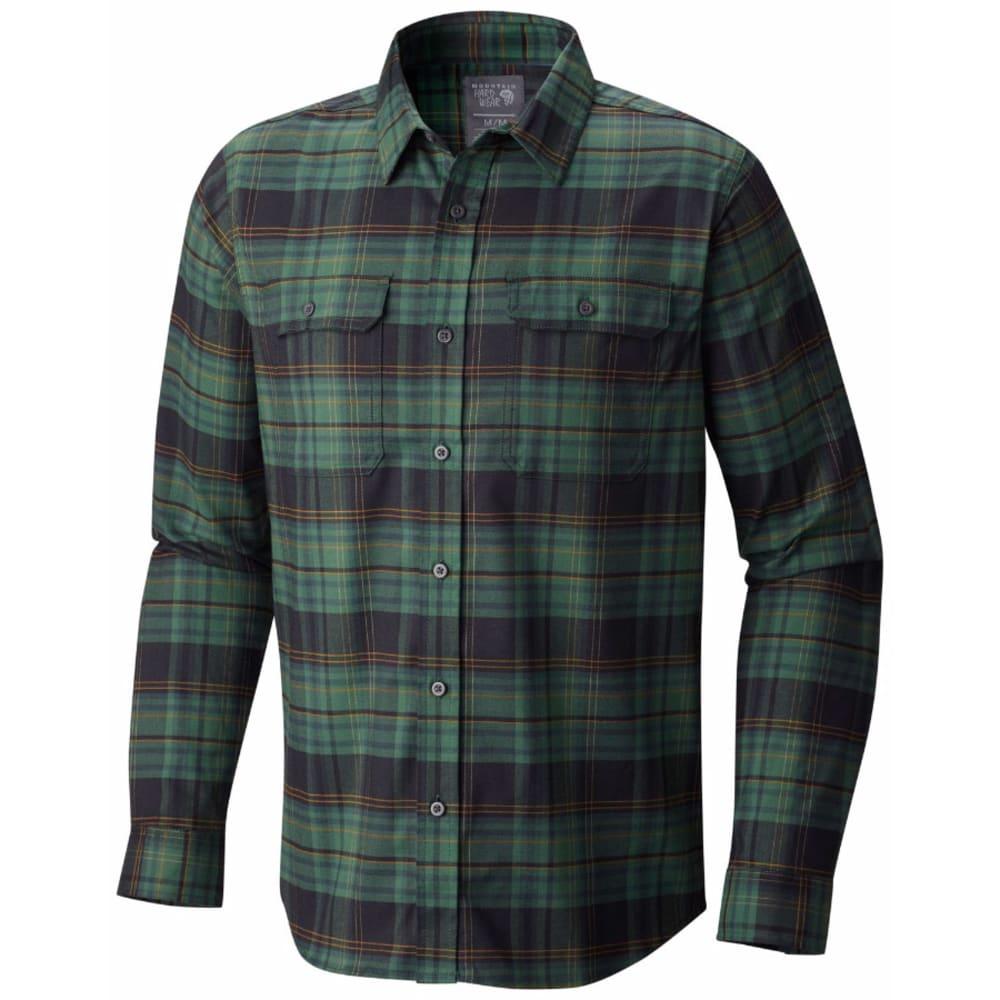 MOUNTAIN HARDWEAR Men's Stretchstone Long-Sleeve Shirt - 300-FOREST