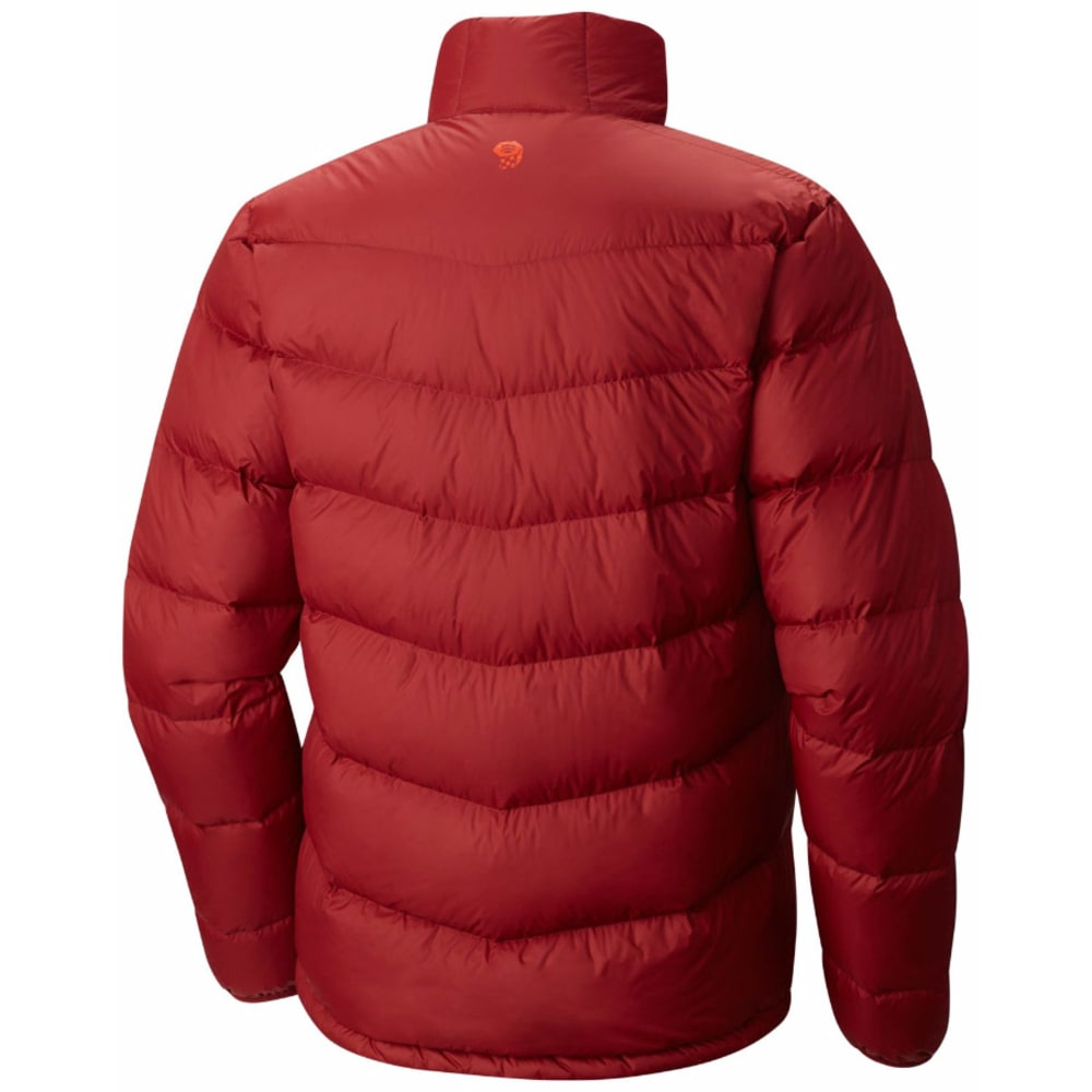 MOUNTAIN HARDWEAR Men's Ratio Down Jacket - 611-SMOLDER RED
