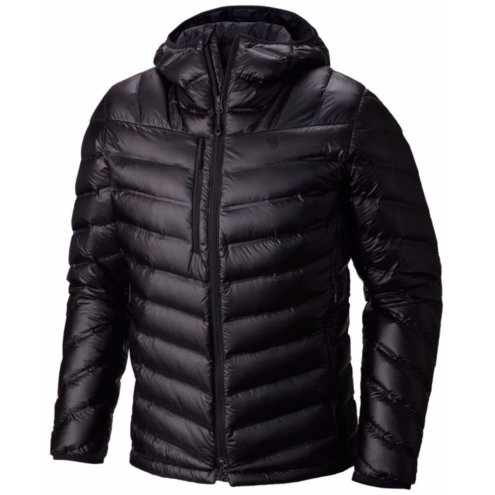 MOUNTAIN HARDWEAR Men's StretchDown RS Hooded Jacket - 010-BLACK