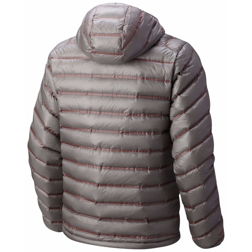 MOUNTAIN HARDWEAR Men's StretchDown RS Hooded Jacket - 073-MANTA GREY