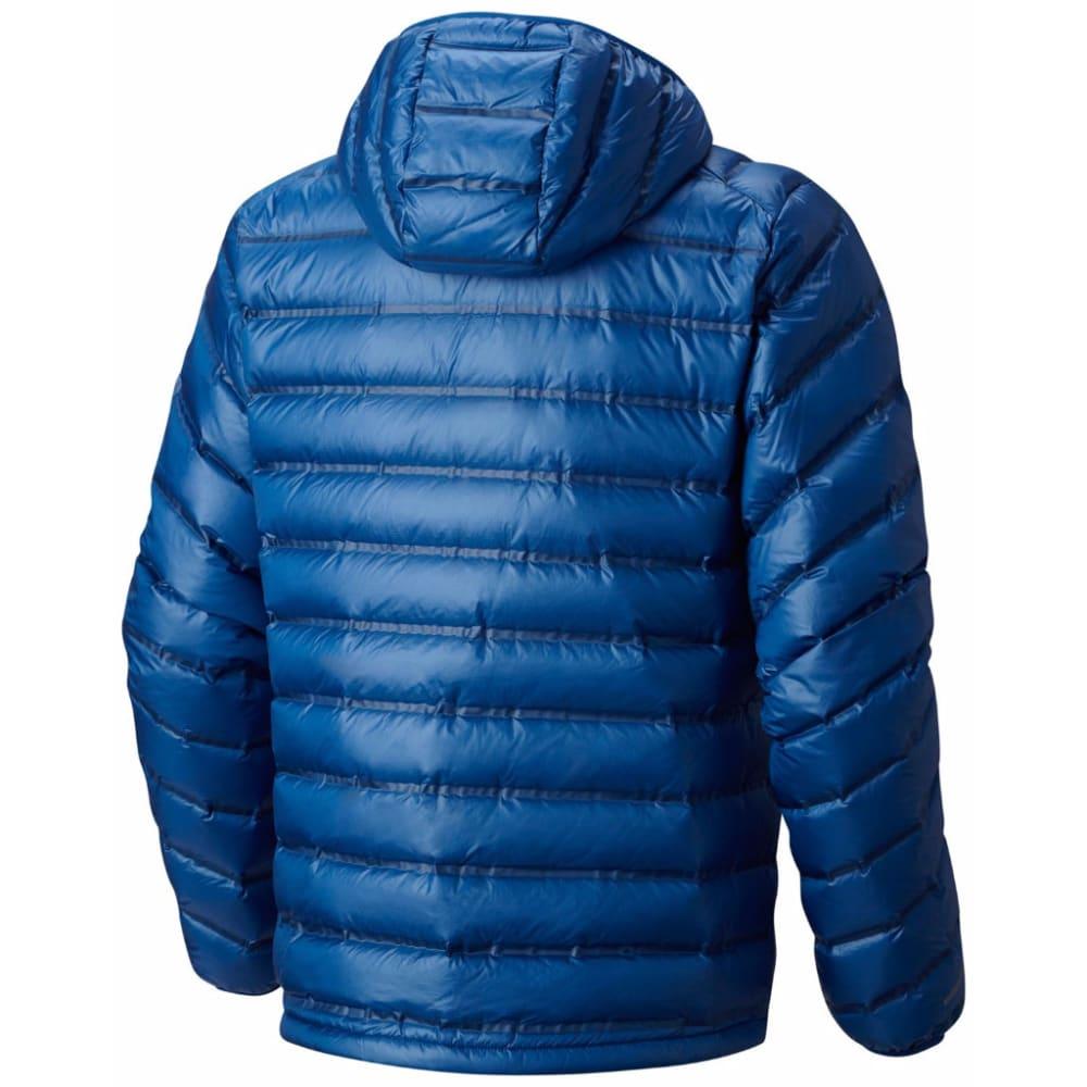 MOUNTAIN HARDWEAR Men's StretchDown RS Hooded Jacket - 448-NIGHTFALL BLUE