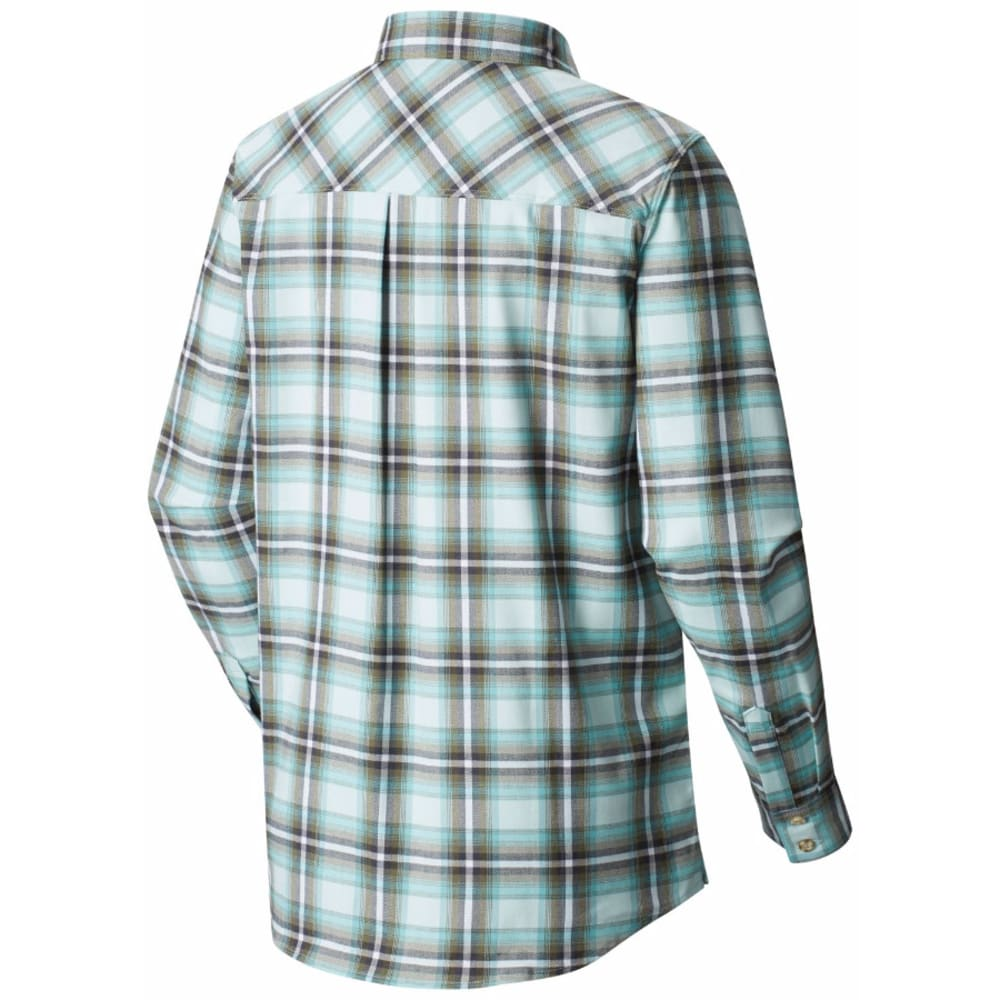 MOUNTAIN HARDWEAR Women's Stretchstone Boyfriend Long-Sleeve Shirt - 329-GOSSAMER BLUE