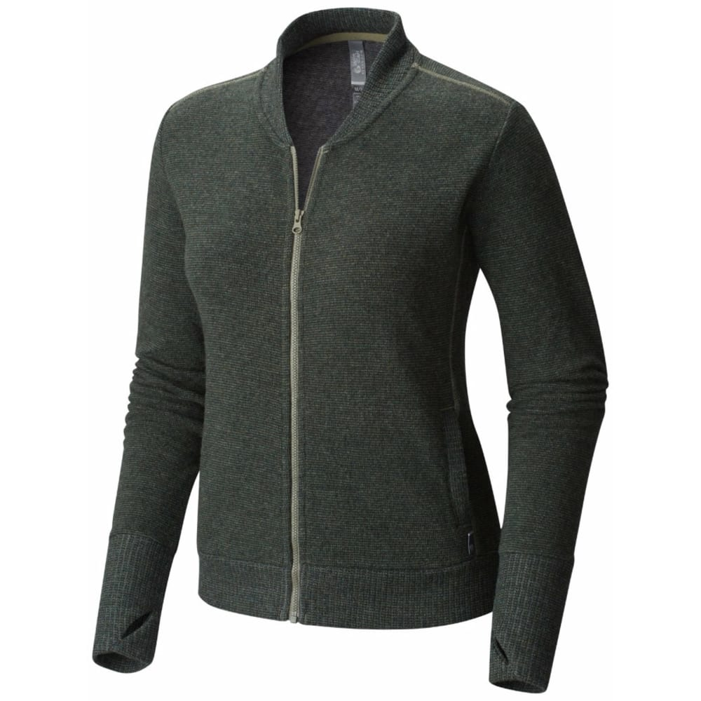 MOUNTAIN HARDWEAR Women's Sarafin Long-Sleeve Bomber Jacket - 397-STONE GREEN