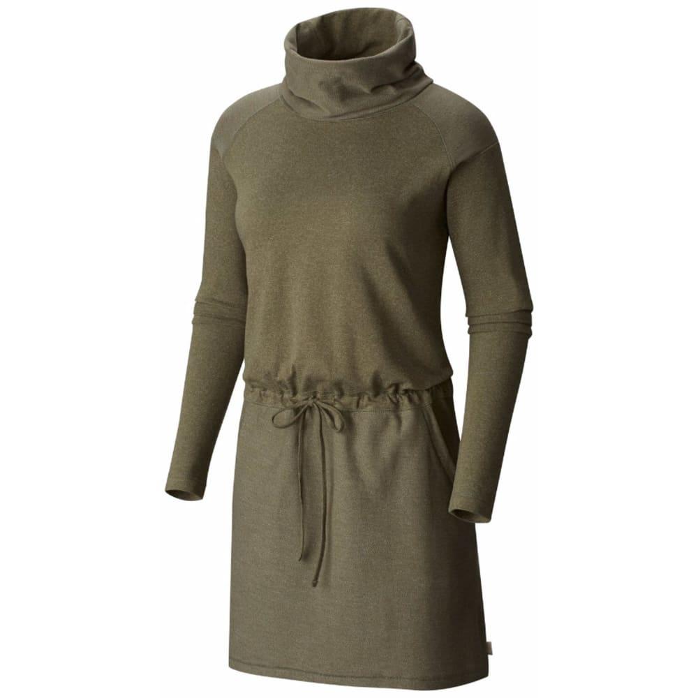 MOUNTAIN HARDWEAR Women's Shadow Knit Long-Sleeve Dress - 397-STONE GREEN