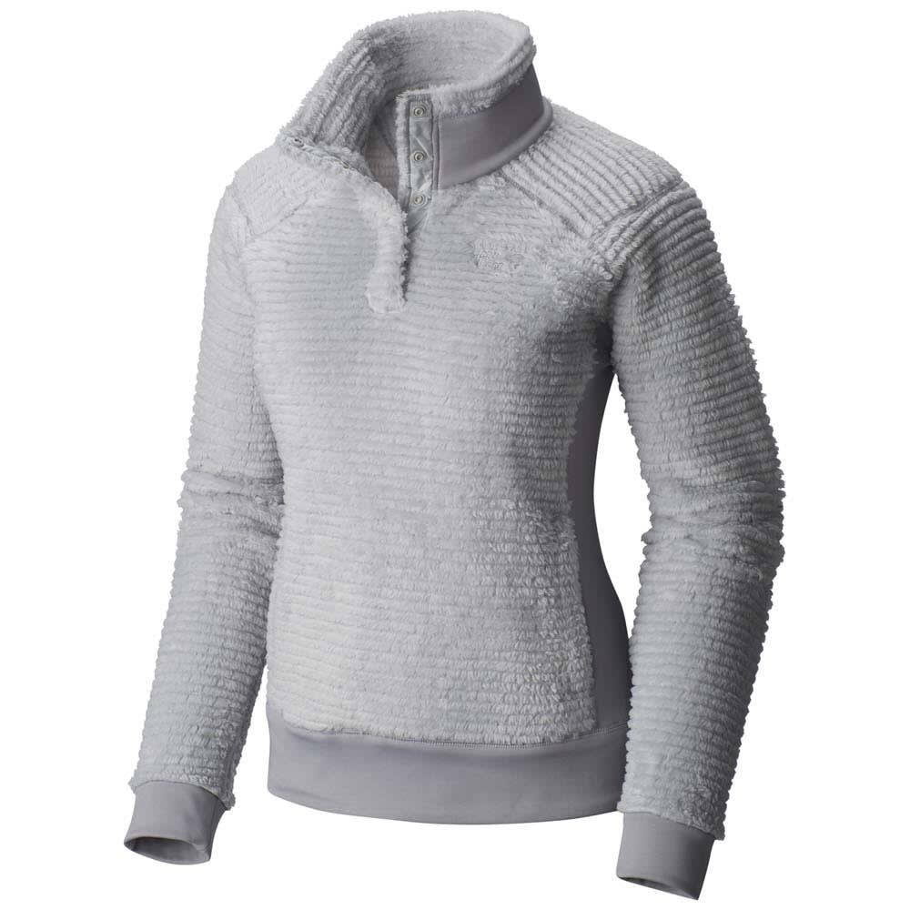 MOUNTAIN HARDWEAR Women's Monkey Pullover - 063-GREY ICE STEAM
